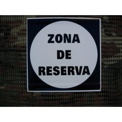 20 x 20 ZONA DE RESERVA
