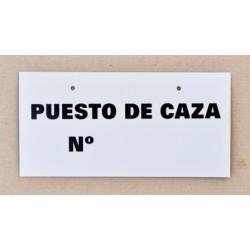10 x 20 PUESTO DE CAZA Nº