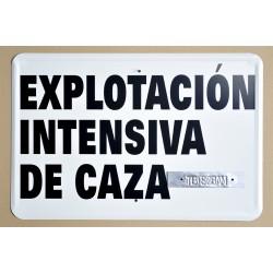 EXPLOTACIÓN INTENSIVA DE CAZA