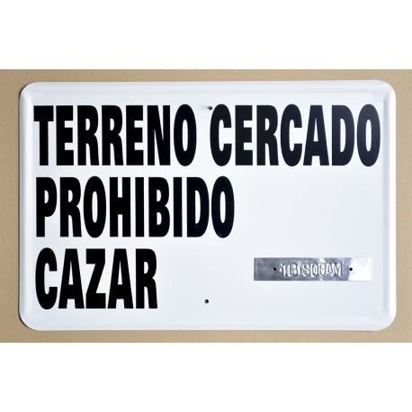 TERRENO CERCADO. PROHIBIDO CAZAR