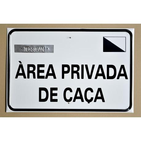 ÀREA PRIVADA DE CAÇA